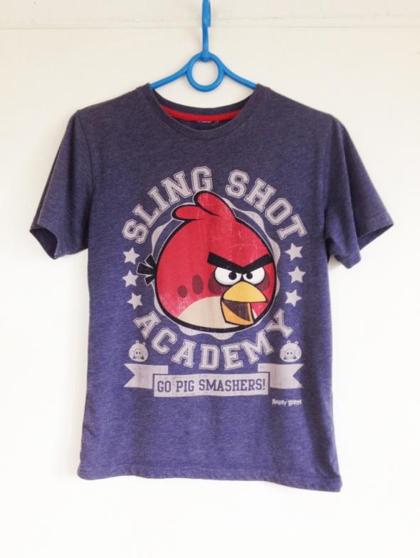 Angry Birds koszulka tshirt fana fantowski czerwony używany XS S M 34 36 38 6 8 10