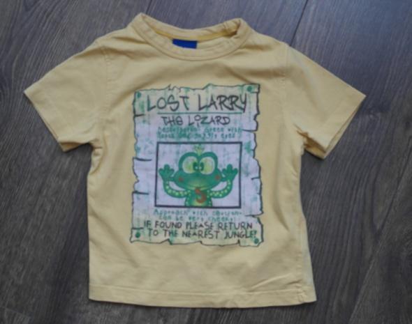Letnia żółta bluzeczka z żabą 86...