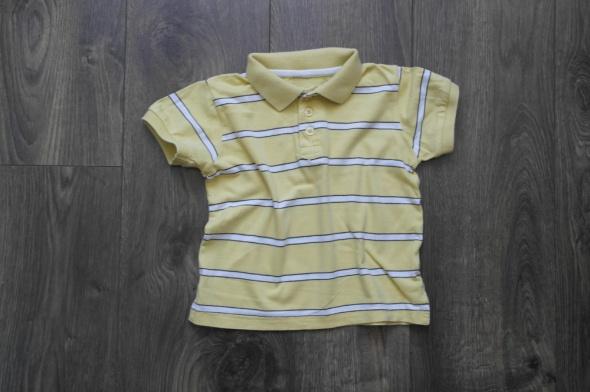 Koszulki, podkoszulki Polo koszulka w pasy 98