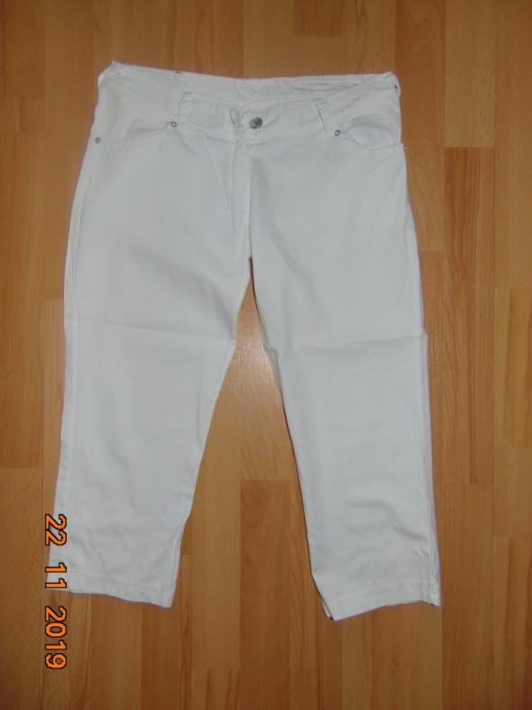 Spodnie Białe S 36