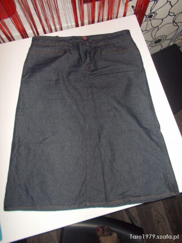 Spódnice spodnica dzinsowa zara 42