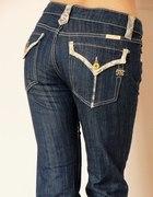 Spodnie jeansowe z koronką Miss Me ro 38