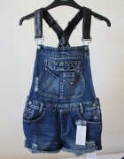 spodenki jeansowe fishbone xs