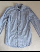 RESERVED koszula REGULAR FIT w kratkę rozmiar 40 s...
