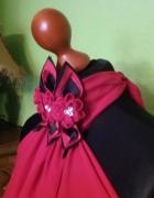 Czerwona suknia gołe plecy 36 38...