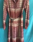 Sukienka koszulowa szmizjerka Zara Woman...
