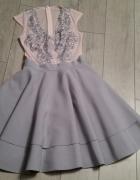 Sukienka SiSi Fashion by Milano roz 36...