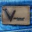 Jeansowe szorty dżinsowe gwiazdki cekiny koraliki XS S 34 36 unikatowe Ventana jeans