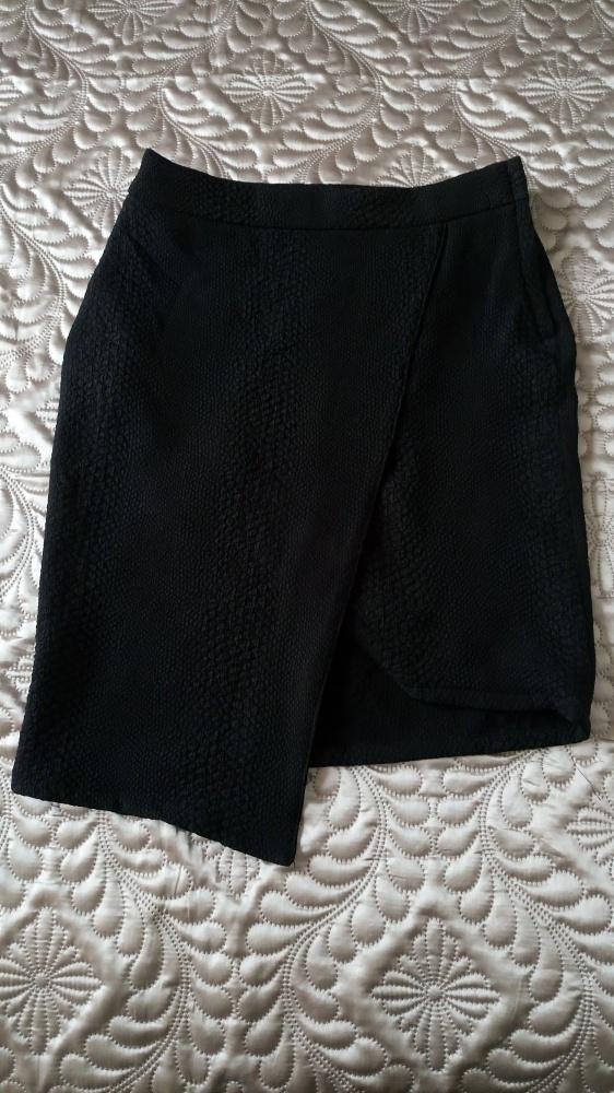 Spódnice Asymetryczna spódnica H&M 36