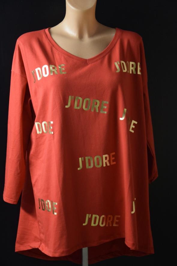 Czerwona bluzka Jadore...