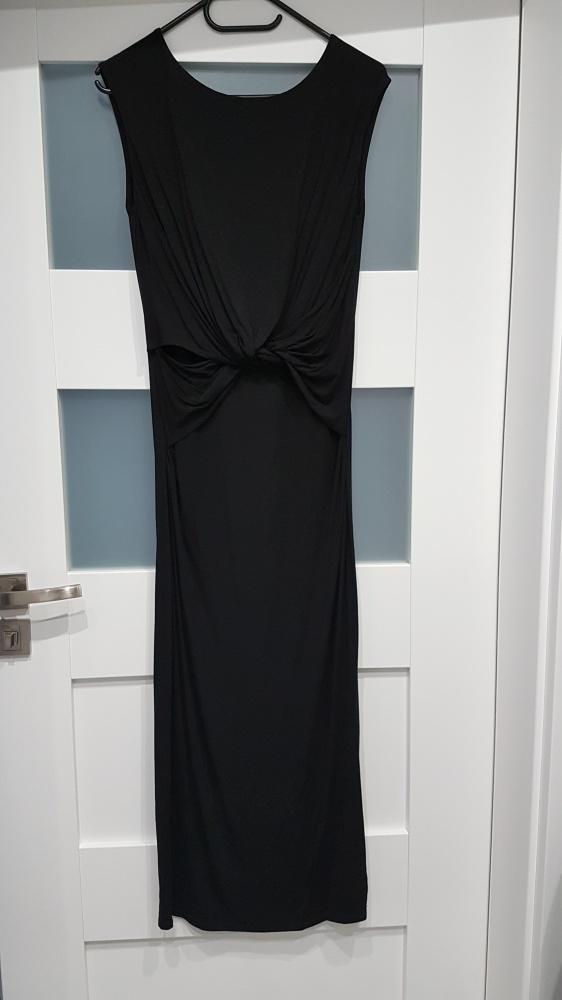 Suknie i sukienki czarna sukienka Taranko