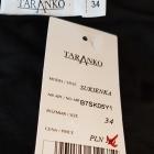 czarna sukienka Taranko
