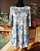 river island sukienka trapezowa kwiaty floral hit 34...
