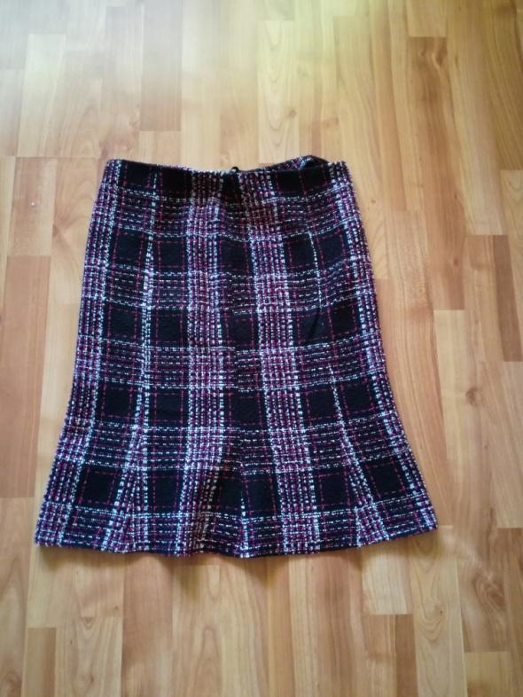 Spódnice Zimowa spódnica w kratkę S