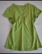 Bluzka w kolorze wiosennej zieleni rozmiar 40 L...