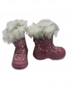 Ice Man trapery śniegowce dziewczęce różowe ciepłe rozm 23...