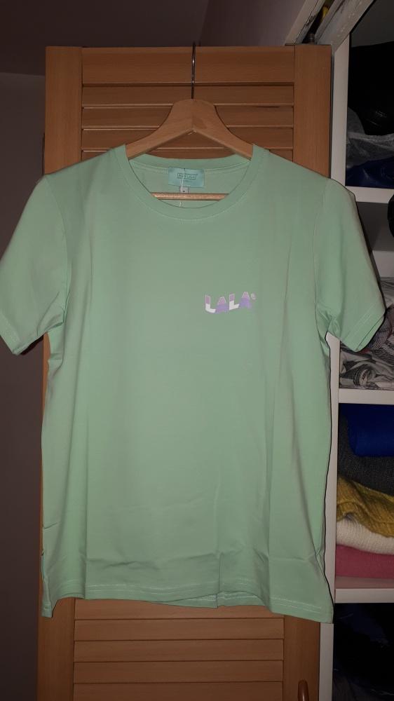 Nowa koszulka Plny Lala New Wave French Fit Pistachio
