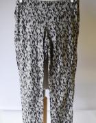 Tregginsy Spodnie H&M L 40 Wzory Aztec Rurki Azteckie...