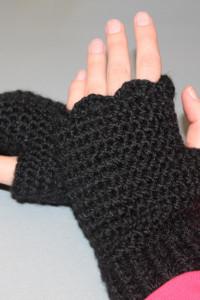 Mitenki rękawiczki bez palców