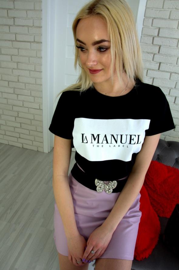 Czarna bluzka La Manuel