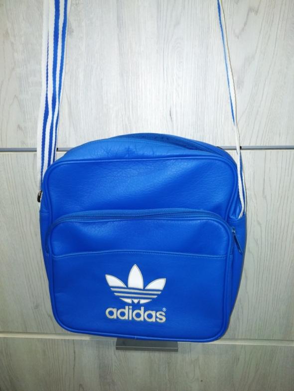 torba listonoszka adidas niebieska