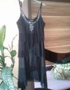 sukienka czarna M L