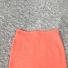 Morelowa spódnica House ołówkowa