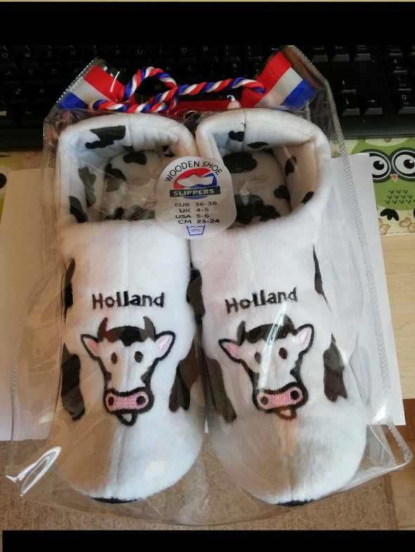 Holland nowe kapciochy...