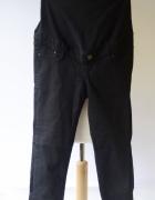 Spodenki Rybaczki H&M Mama XS 34 Czarne Spodnie Ciążowe...