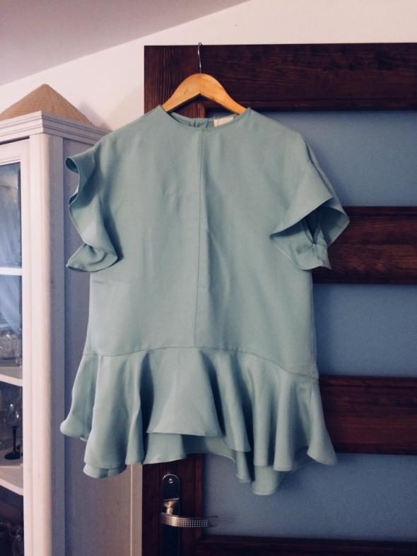 Bluzka miętowa Zara