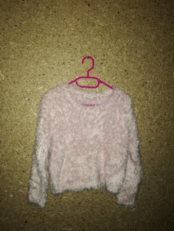 River Island Różowy włochaty sweterek 11 12 lat