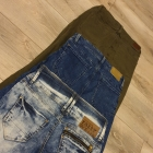 PAKA 34 XS spodnie Bershka Telly Weijl jeansowe przecierane