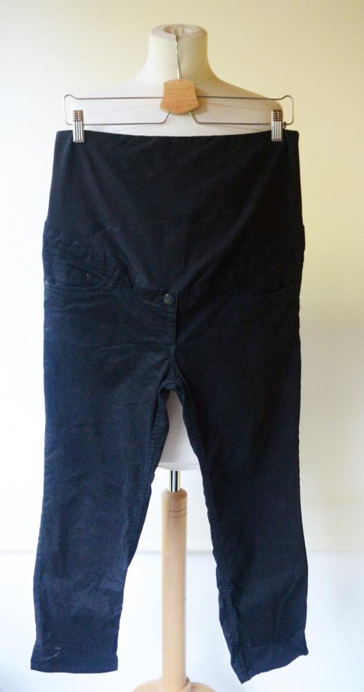 Spodenki Spodenki H&M Mama Rybaczki Czarne XL 42 Ciążowe