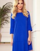 plisowana wygodna sukienka CHABROWA S M L XL XXL KOLORY...