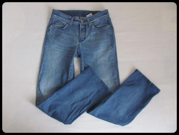 Spodnie Spodnie jeansowe jeansy prosta nogawka M L
