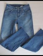 Spodnie jeansowe jeansy prosta nogawka M L...