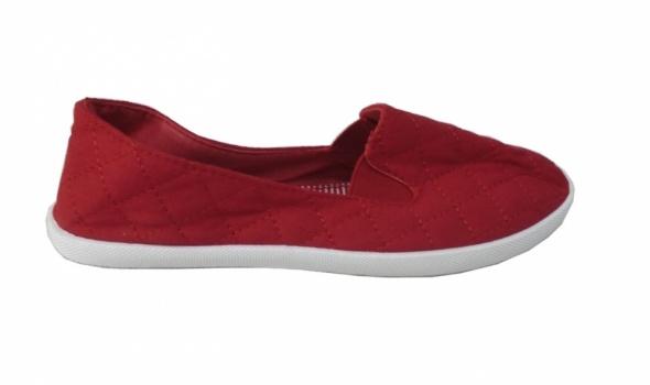 balerinki trampki nowe czerwone 38