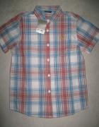 NEXT koszula chłopięca w kratkę z krótkim rękawem roz 134...