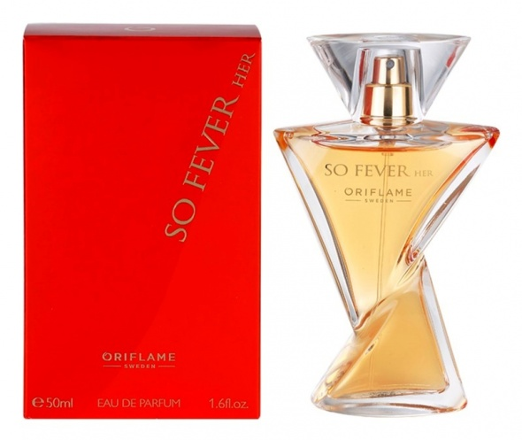 So Fever Her Oriflame perfum 50 ml...