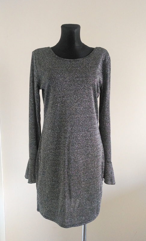 Suknie i sukienki Sukienka ze srebrną nitką 42 44