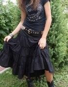 Spódnica gotycka czarna bdb stan...