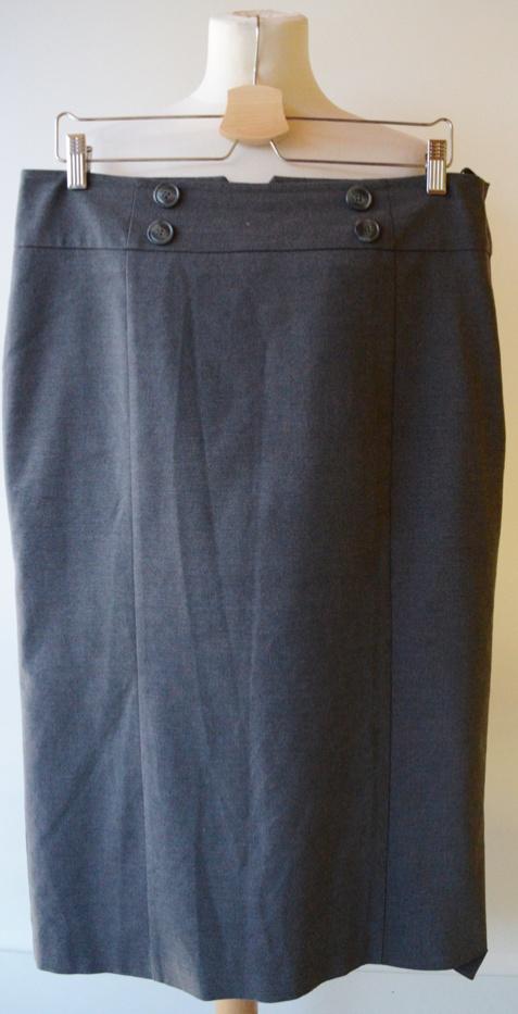 Spódnice Spódniczka Szara H&M XXL 44 Ołówkowa Elegancka