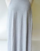 Sukienka H&M Basic XL 42 Szara Oversize Luzna...