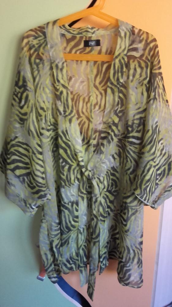 bluzka kimono mgiełka