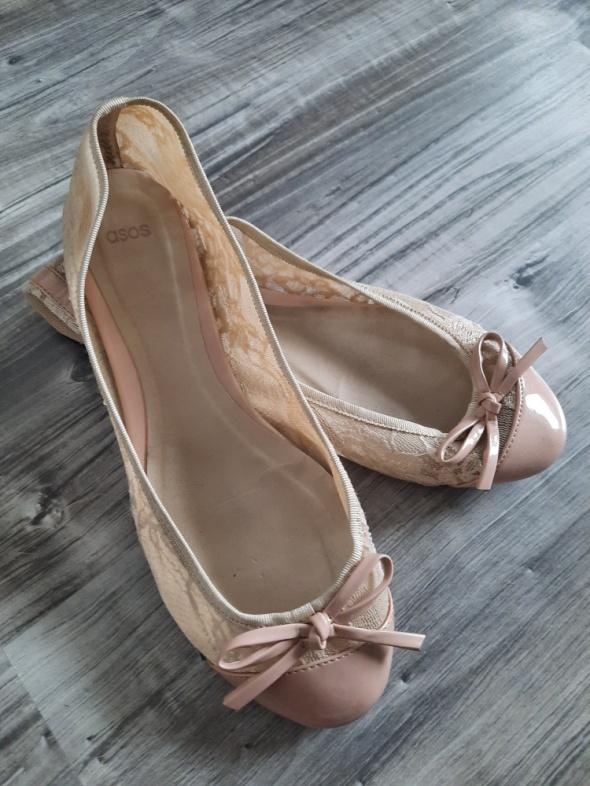 Baleriny płaskie buty ASOS 39
