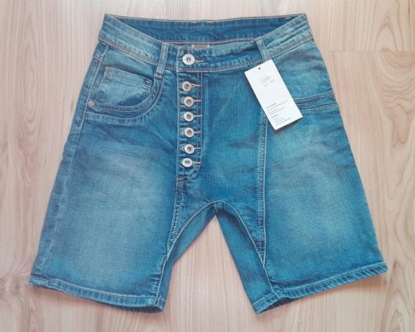 Spodenki Nowe ciekawe jeansowe szorty spodenki damskie S