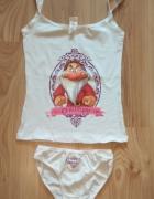 Nowy komplet bielizny koszulka majtki Krosnoludek Grumpy Disney rozm M