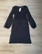 Sukienka sweter tunika S M dzianinowa...