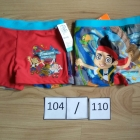 Piraci z Nibylandii nowe bokserki kąpielówki chłopięce nowe 104 110