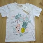 Nowy komplecik bluzeczka krótkie getry różowe 110